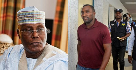 Man who vowed to blow up Atiku's plane, rape, & kill his wife, and daughters arrested by Police (Photos)