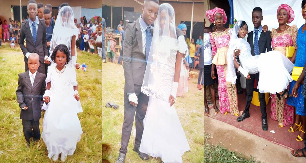 19-Years-Old Nigerian Secondary School Students Get Married (Photos)
