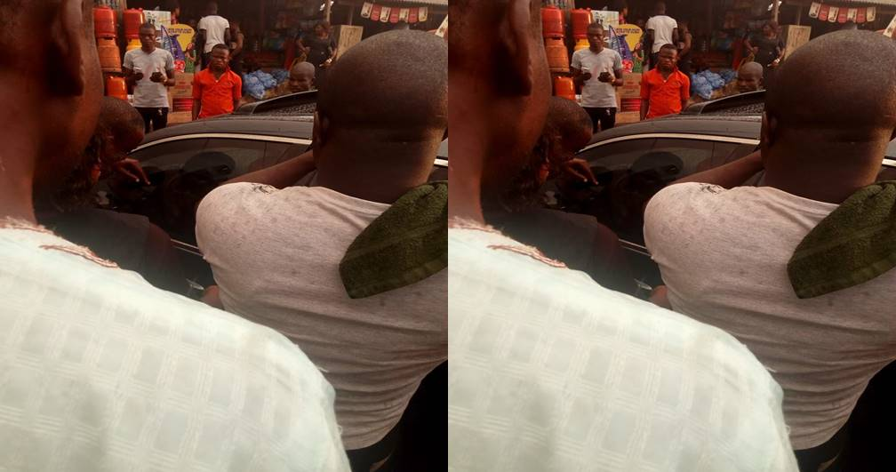 Nigerian mother refuses to break car window to rescue her trapped child