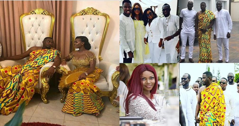 First photos & video from actor John Dumelo's traditional marriage to his beautiful bride