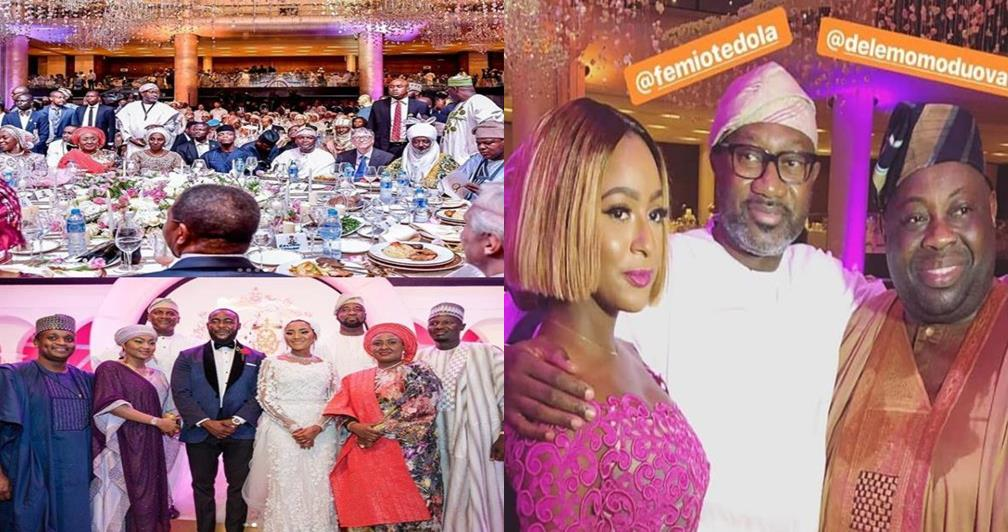 More photos from the grand wedding finale of Aliko Dangote's daughter's wedding in Lagos