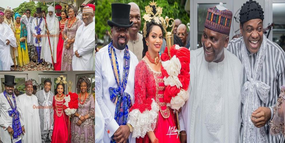 More photos from the traditional wedding of ex-governor, Donald Duke's daughter, Xerona, to DJ Caise