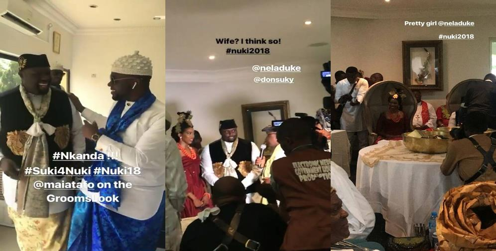 First photos from the traditional wedding of Donald Duke's daughter, Nela Duke