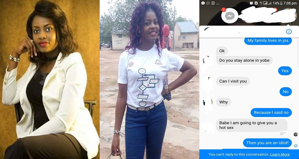 You are an Idiot - Nigerian Lady exposes aged man who offered to give her 'killer sex'