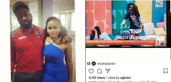 Byno slammed for sharing a photo with Ceec after insulting her