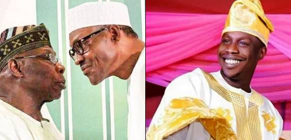 Breaking:Obasanjo's son declares readiness to help Buhari win re-election