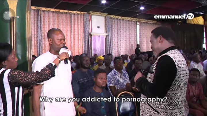 The Hilarious Moment Tb Joshua Caught Man Watching Porn In -1320