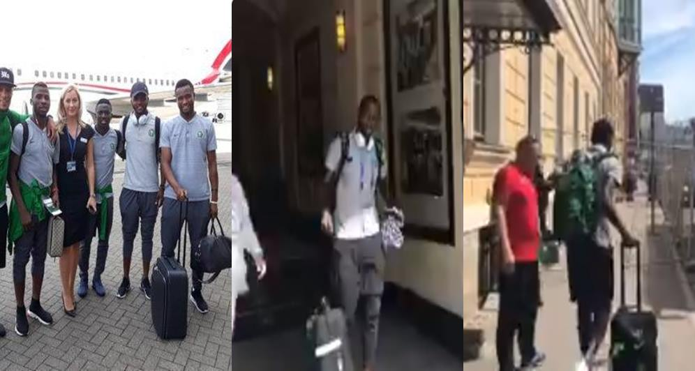 Russia 2018: Nigeria's Super Eagles check out of hotel After Defeat To Argentina (Video)