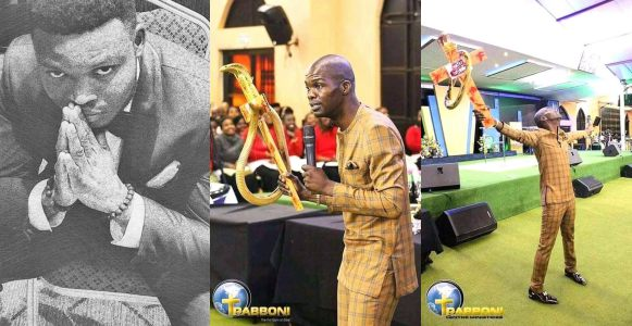 """""""Christians stop selling your souls for useless miracles"""" – Nigerian man says while attacking pastor who uses snake to perform miracles"""