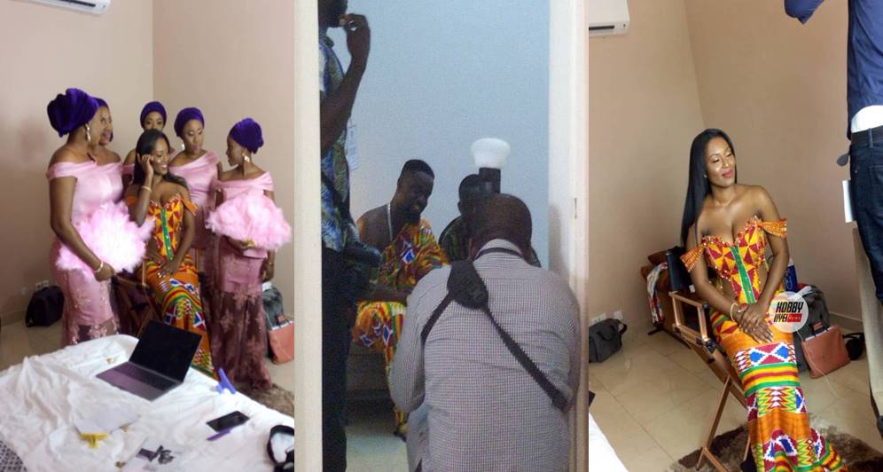 First Photos From Sarkodie & Tracy's Traditional Wedding