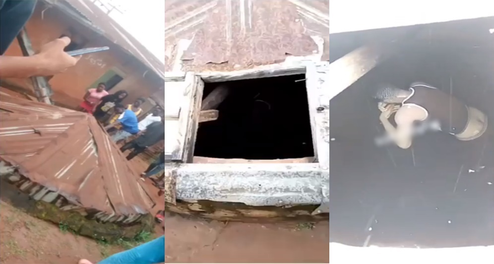 Boy dies inside well after complaining about evil spirits in Lagos (Video)
