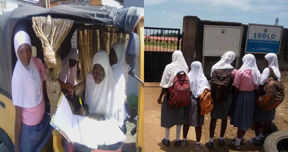 5 students suspended for wearing hijab to school in Lagos