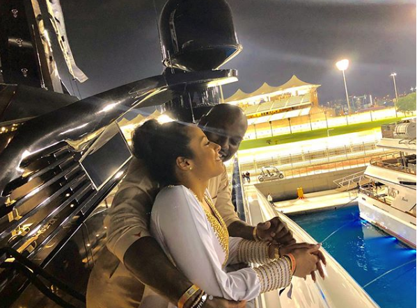 Tyrese posts romantic photos with his 'Queen' as they explore Abu Dhabi