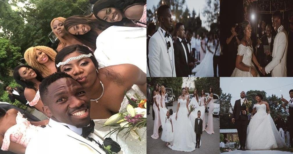 Photos from the white wedding of Super Eagles player, Kenneth Omeruo, in Istanbul