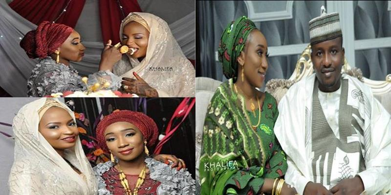 Wife throws huge wedding ceremony for husband as he marries a second wife (Photos)