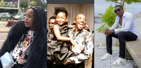 Bovi and daughter celebrate birthday together today with cute photos