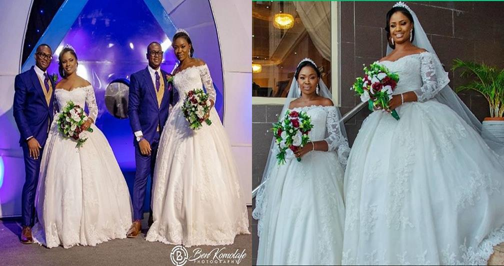 Adorable wedding photos of identical twin brothers who tied the knot with 2 best friends