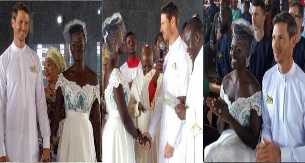 First Photos From The Wedding Of Dora Akunyili's Daughter To Her Canadian Husband In Anambra
