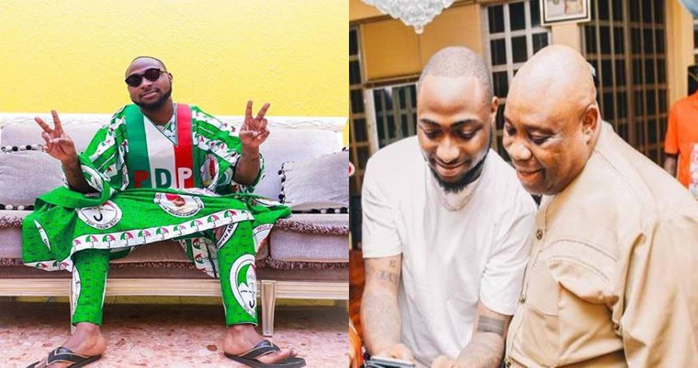 Davido reacts after INEC declared Osun Governorship Election as Inconclusive