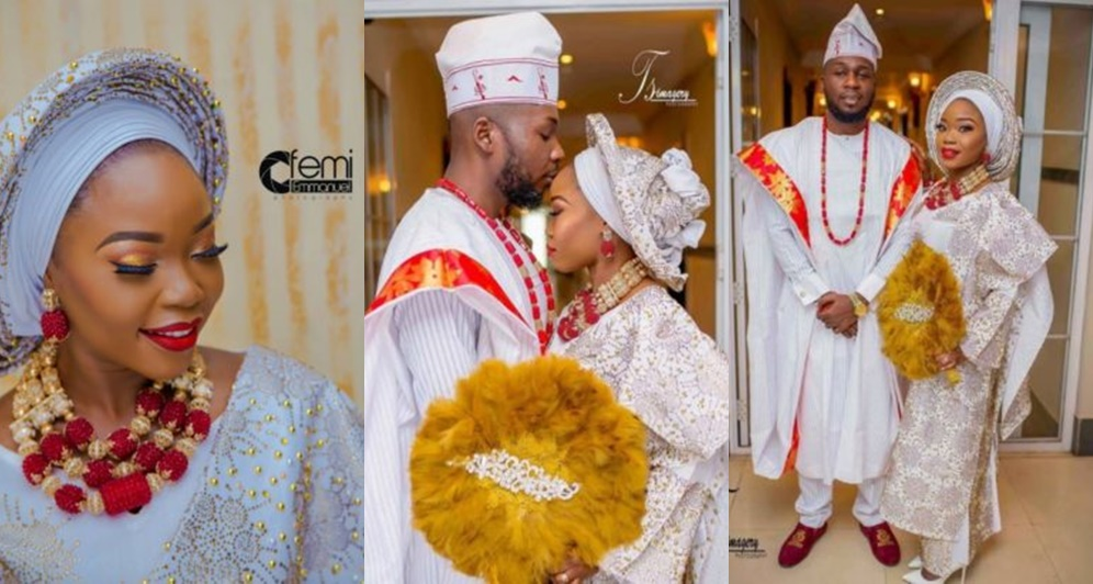 Nigerian Couple Finally Tie The Knot After Dating For 14 Years
