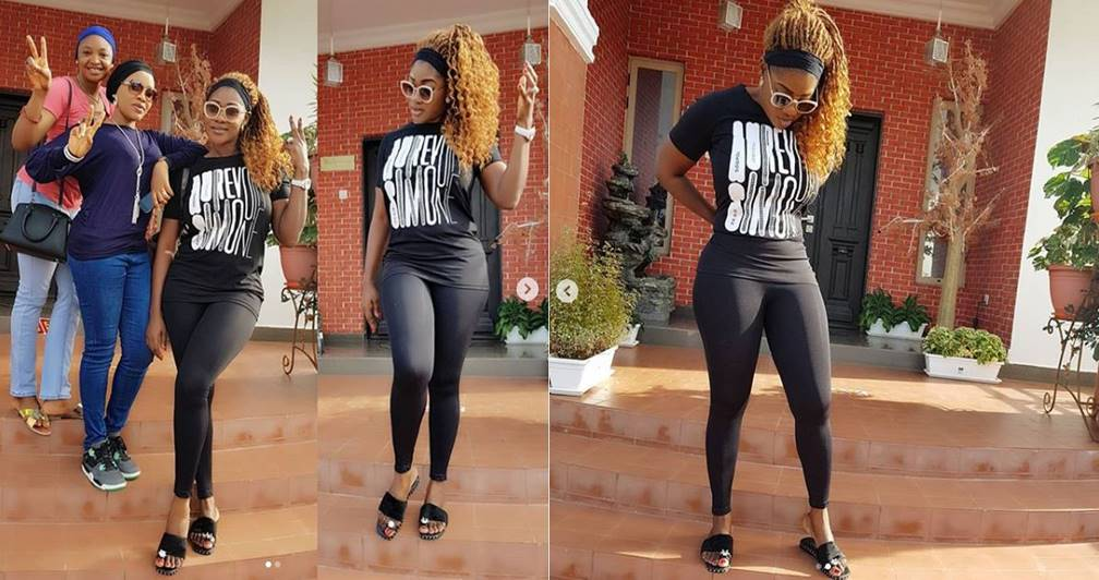 Mercy Johnson looses weight, shows off her hot new slender figure (Photos)