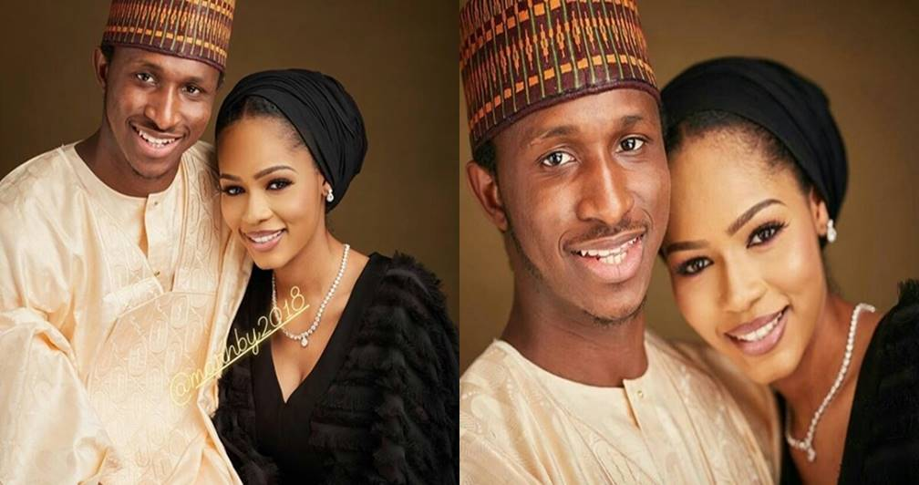 Pre-wedding photos of late President Yar'adua's son and his beautiful bride-to-be