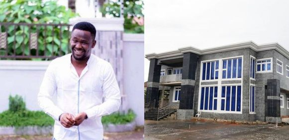Check out photos of actor, Zubby Michael's newly completed mansion