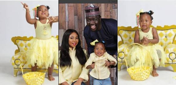 Seyi Law And Wife Celebrate Daughter Tiwa On Her 2nd Birthday Today