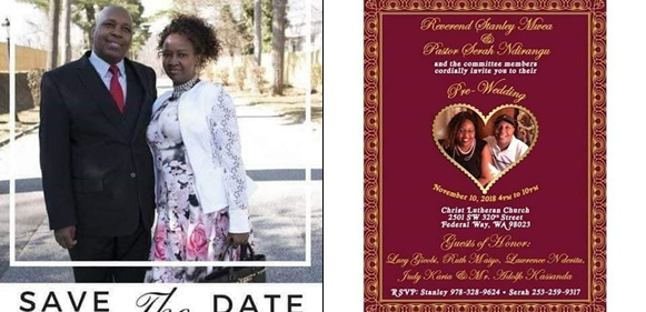 Kenyan pastor holds 3 Pre-wedding dinner parties with two women