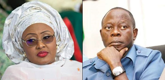 Buhari's Wife Aisha,APC Governors Allegedly Move Against Oshiomhole