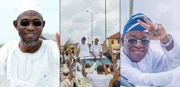 Aregbesola And His Elect Stomp The Streets To Celebrate Their Victory
