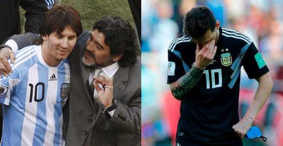 Messi is a great player, but he's not a leader – Diego Maradona