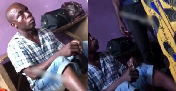 Passenger arrested for rubbing his sperm on a baby's tongue in Lagos (Video)