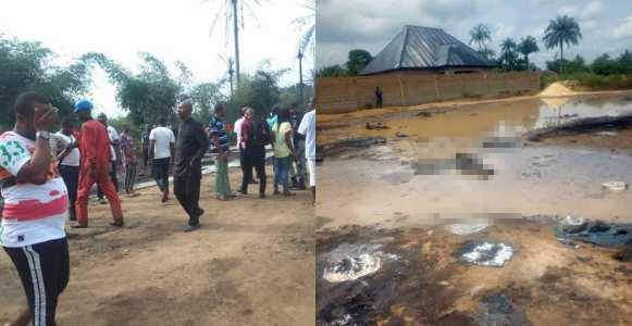 Pipeline explosion kills over 100 people, many houses burned down in Osisioma, Abia State