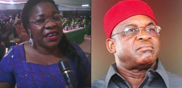 David Mark's Daughter, Blessing Onuh Dumps PDP After Suffering Defeat