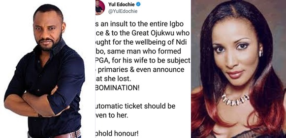It's An Abomination For Bianca Ojukwu To Lose An Election- Yul Edochie