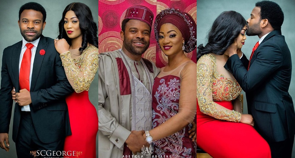 Actor Gabriel Afolayan Set To Wed His Longtime Girlfriend.....See Pre-Wedding Photos