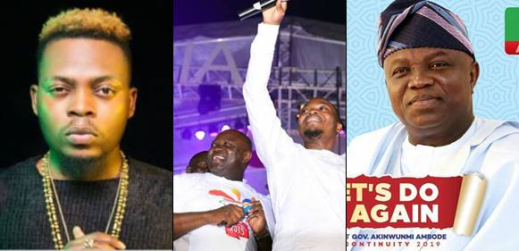 Olamide says he want a second term for his 'daddy' Ambode