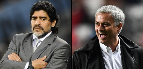Maradona Names Mourinho As The Best Football Manager In The World