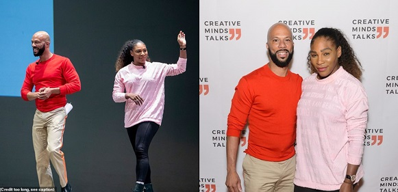 Serena Williams Reunites With Ex-Boyfriend Common (Photos)