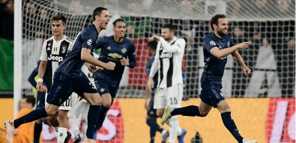 Champions League: Manchester United Stun Juventus, Real Madrid Win