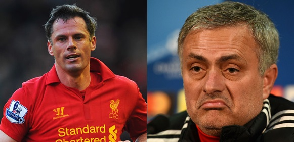 Jamie Carragher reveals who caused Mourinho's sack from Man United