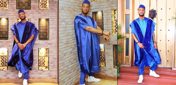 D'Prince Shares Agbada-Themed Photos To Celebrate Birthday Today