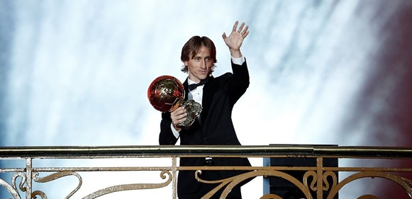 Luca Modric crowned world's best player at Ballon d'Or awards, ends Messi and Ronaldo's 10-year dominance