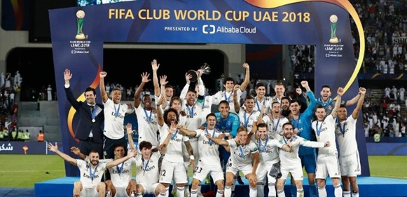 Real Madrid wins Club World Cup for the third year in a row