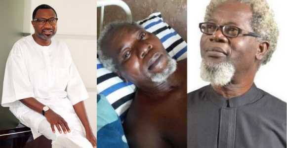 Billionaire, Femi Otedola promises to sponsor ailing actor, Victor Olaotan's medical bills