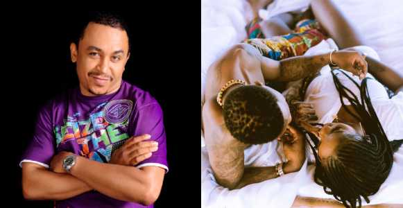 Daddy Freeze reacts to Tiwa Savage and Wizkid in 'Fever' video