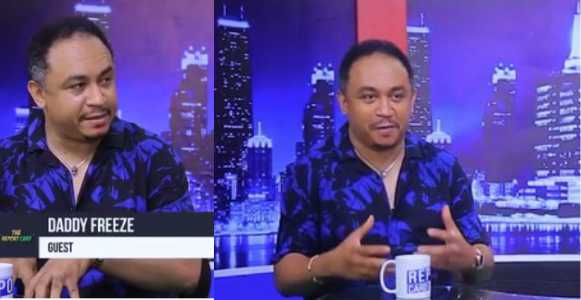 'I was still paying tithes while I was preaching against it' - Daddy Freeze (Video)