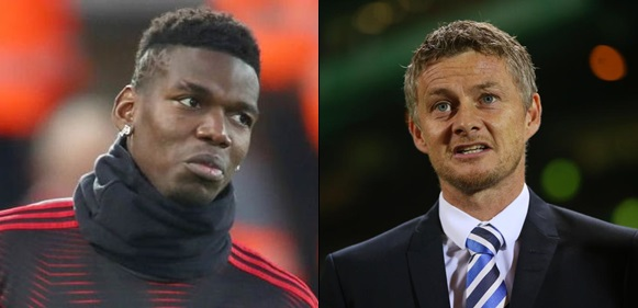 Pogba Is My Biggest Challenge At Manchester United – Caretaker Coach Ole Solskjaer