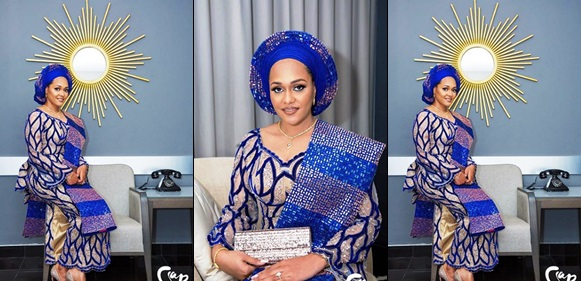 Wizkid's EX Tania Releases More Photos And Video Of Her Bridal Look